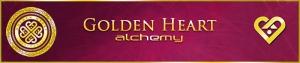Golden Heart Alchemy Mandalic Art Christina Fisher Copyright 2010