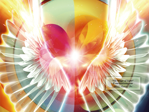 The Light is Growing~Transmission From The New Legions of Light On-wings-of-light